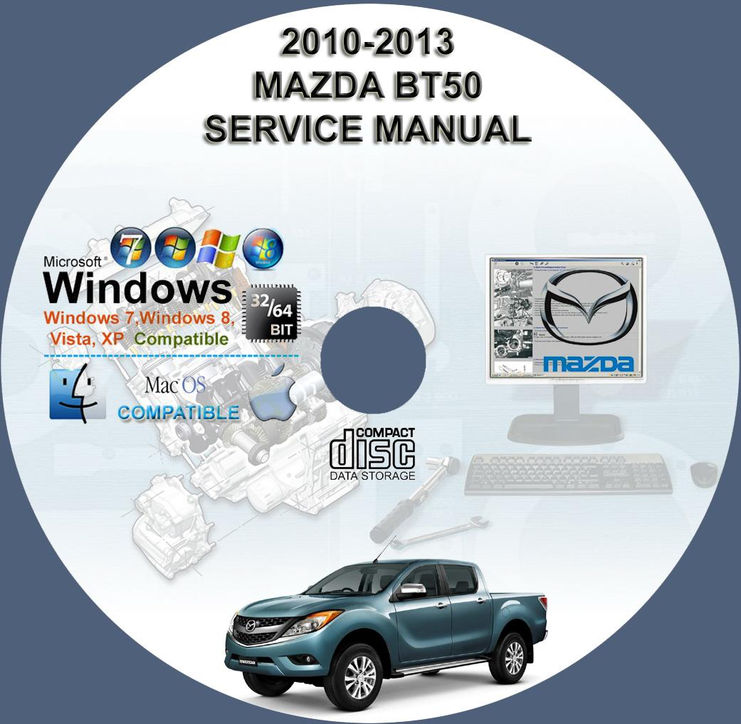 mazda bt50 owners manual download