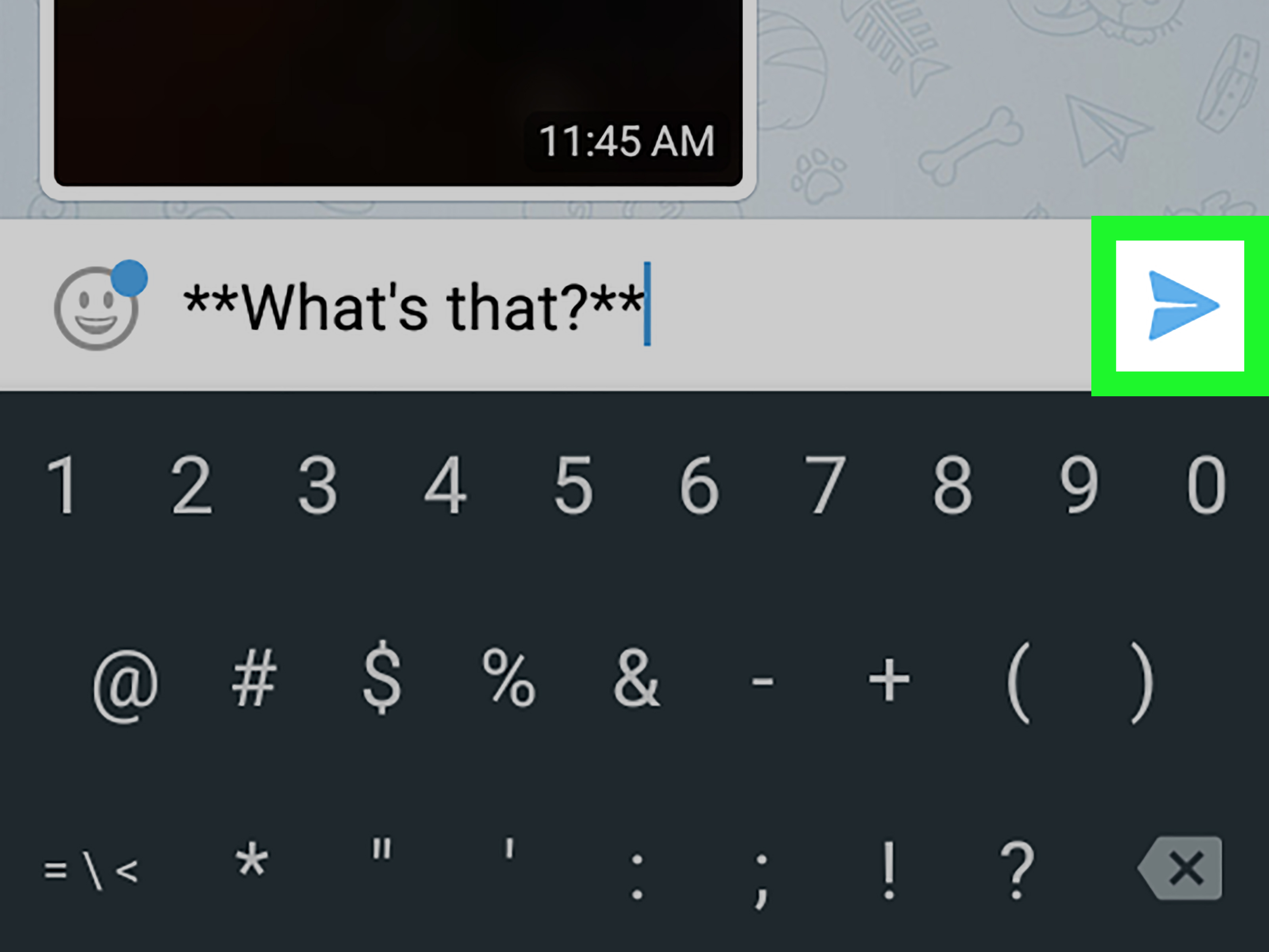 how to use manual message tone for android