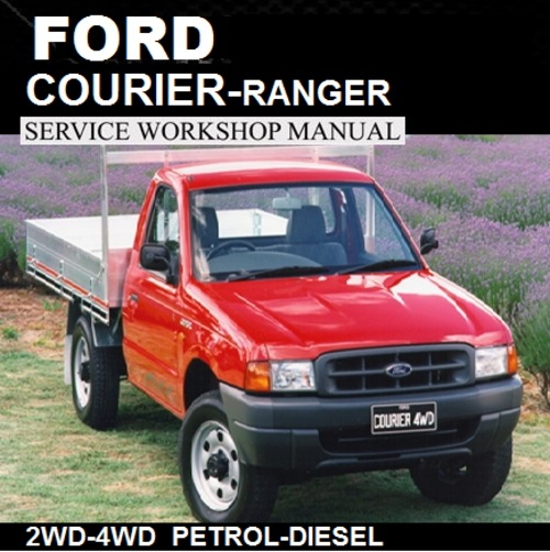 1993 ford courier 4x4 workshop manual