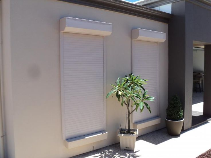 manual roll up of electric window shutters
