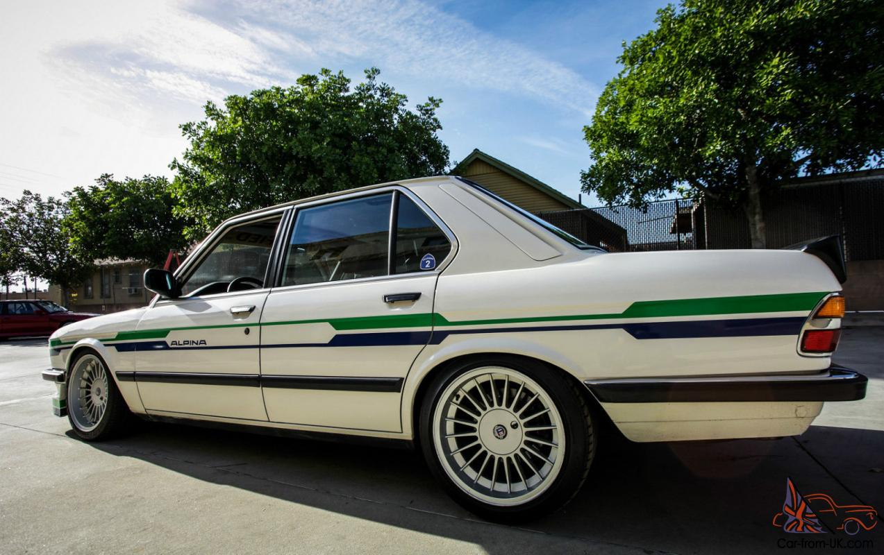 bmw 5 series e28 manual for sale