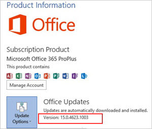 manually download and install office 365 pro plus updates