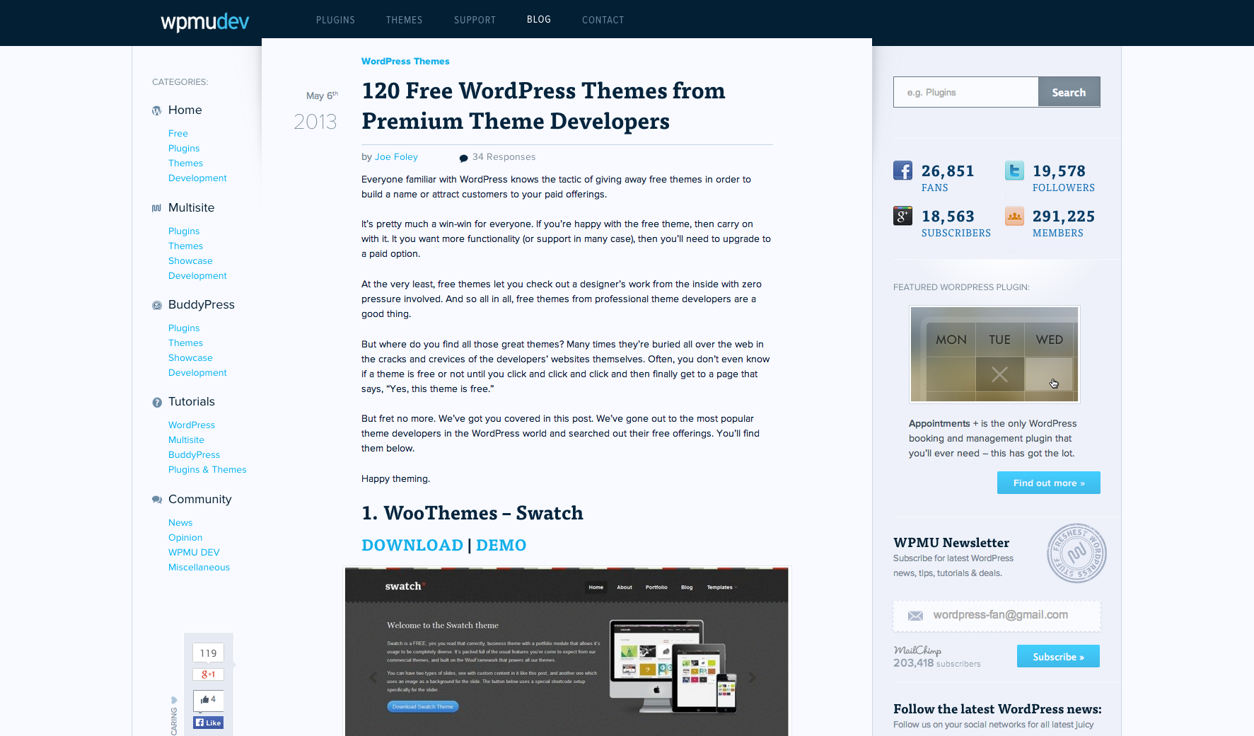 user manual for a wordpress site