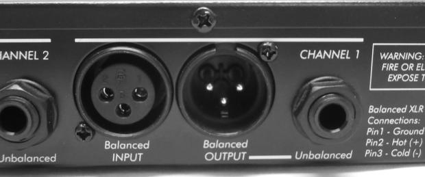 art voice channel tube mic preamp manual