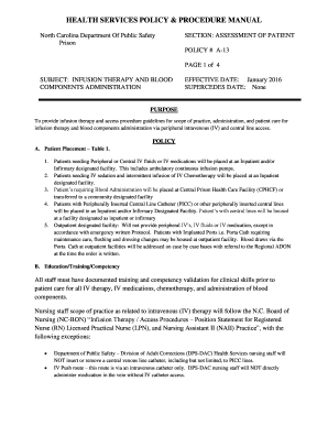 tricare policy and procedure manual