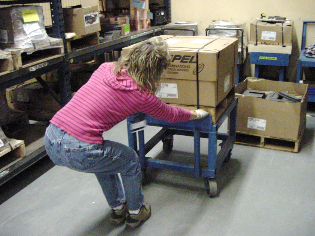 common manual handling hazards in aged care