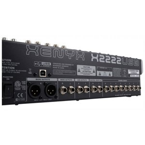 behringer xenyx x2222usb usb mixer with effects manual