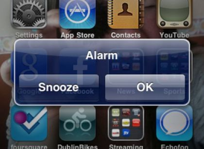 how to manually increase alarm sound iphone