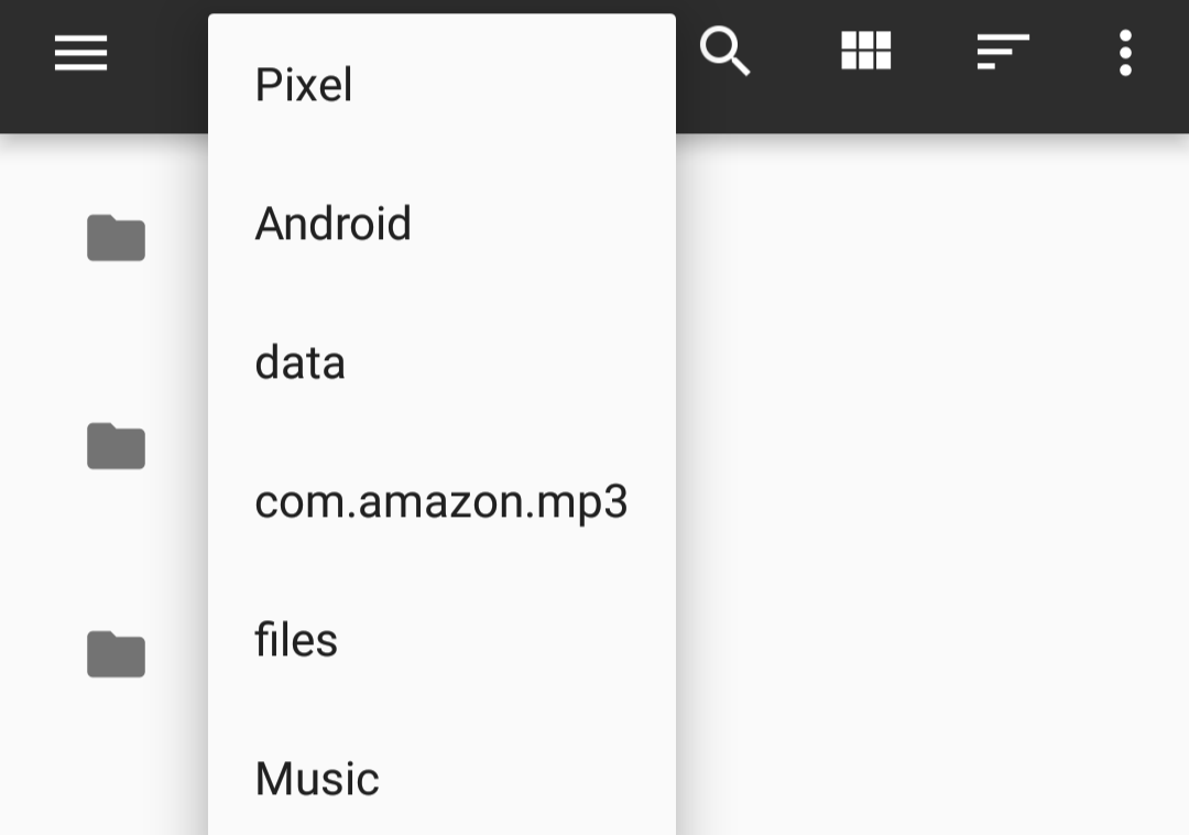 how to manually store songs into android